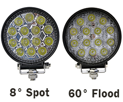 42W LED Lights