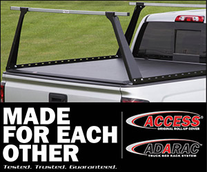 Tonneau Cover and Rack Combo