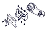 Image for product semi-gearbox
