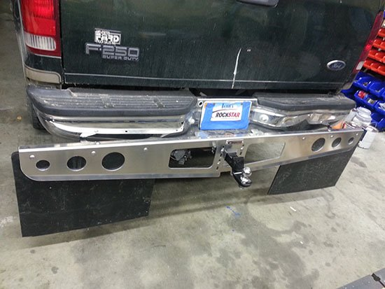 ROCKSTAR™ Hitch Mounted Mud Flaps Customer Review