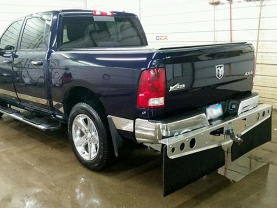 ROCKSTAR™ XL Hitch Mounted Mud Flaps Customer Review