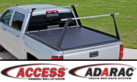 ACCESS® ORIGINAL Roll-Up Cover & ADARAC™ Truck Bed Rack Combo