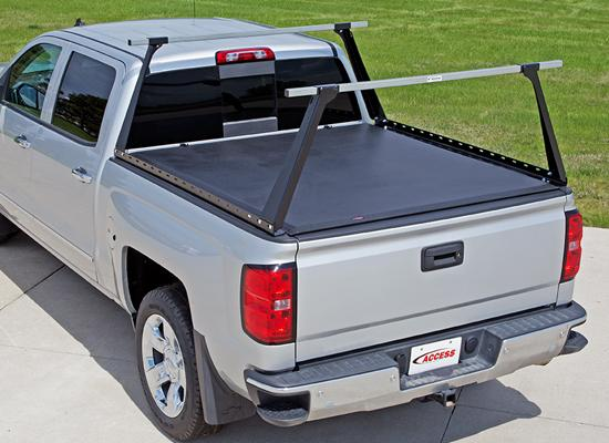 Access Lorado Roll Up Cover Amp Adarac Truck Bed Rack Combo