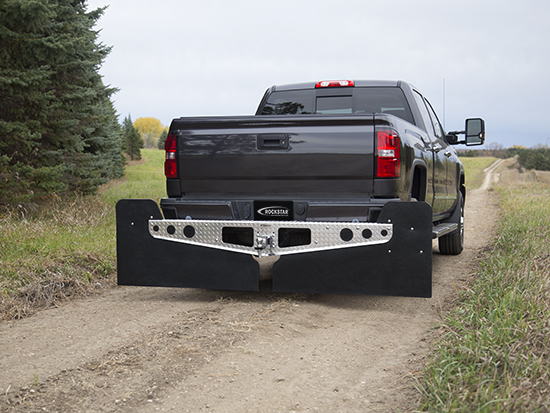 3XL Mud Flaps on Gravel Road