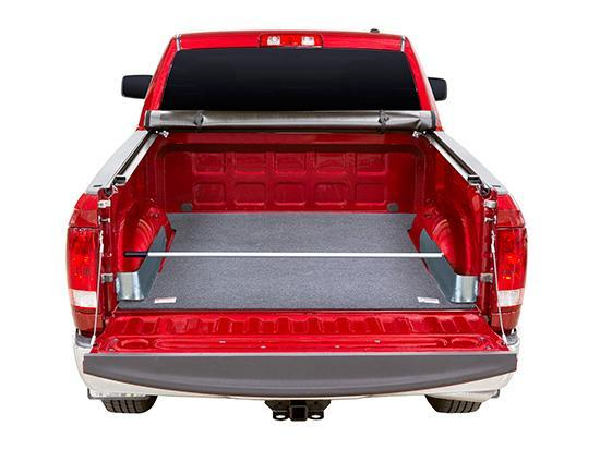 EZ-Retriever 2 and Galvanized Truck Bed Pockets