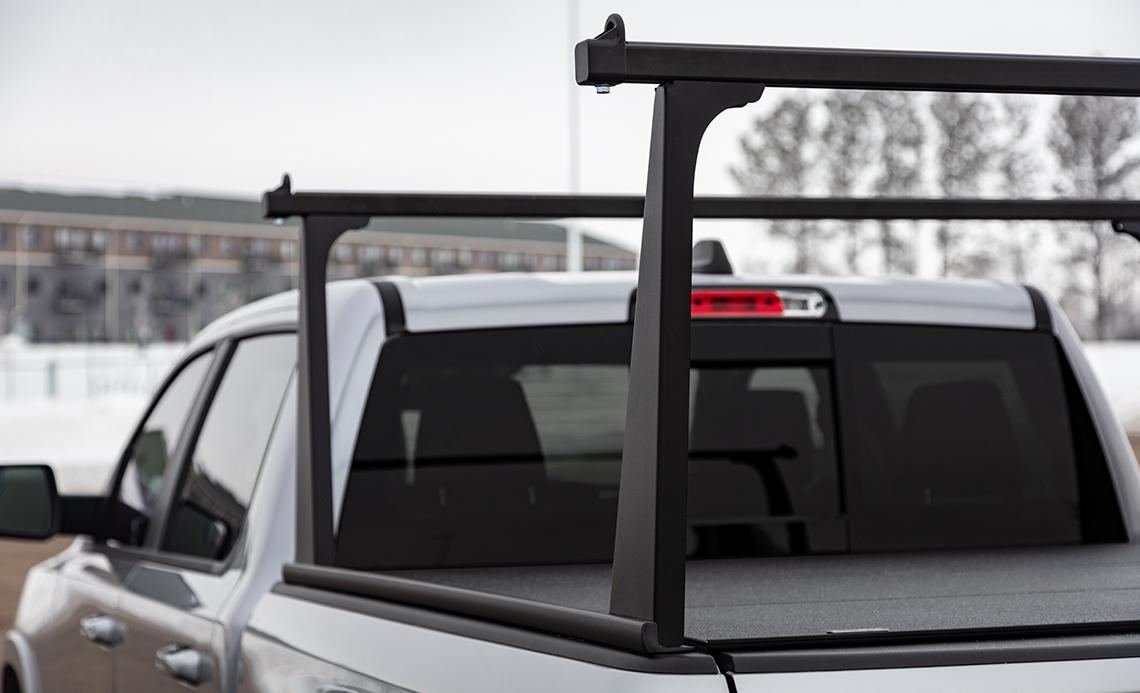 Power Black Truck Rack System