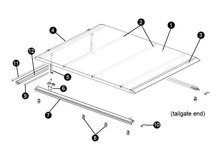 Replacement Parts For Access Toolbox Edition Tonneau Cover