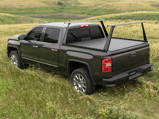 Tonneau Cover and Truck Bed Rack Combo