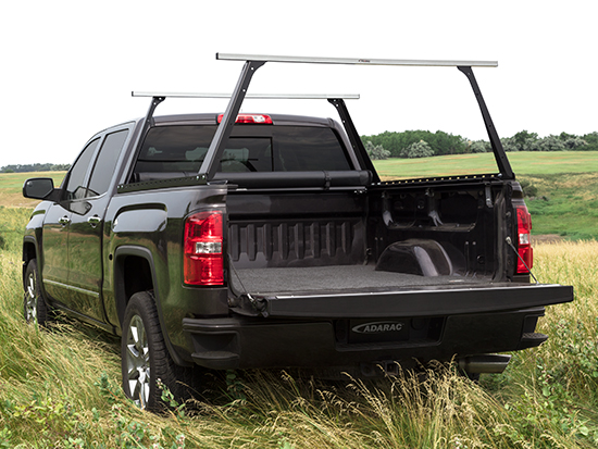 Truck Bed Cover and Pickup Rack Combo
