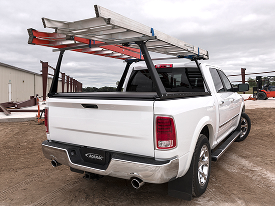 Ladder Rack and Tonneau Cover Combo