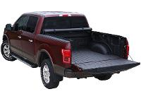 Limited Tonneau Cover open