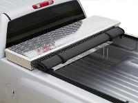 Close Up of Toolbox Tonneau cover