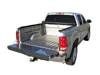 Tailgate Protector on Silver Truck
