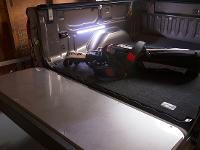 ACCESS Motion LED Light used in Truck Bed