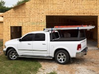 Construction Truck Bed Rack with Tonneau Cover