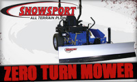 SnowSport� All Terrain ZTR Plow