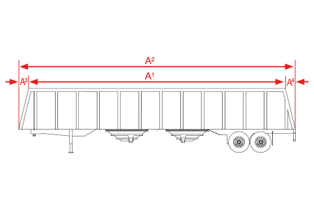 Tapered Trailer Box Measurements